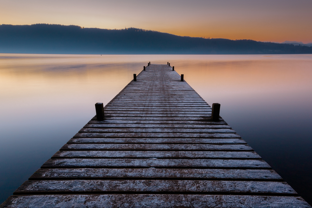 Rick McEvoy Photography Portfolio 2014 Image 5 - Jetty, Lake Windermere - landscape photography