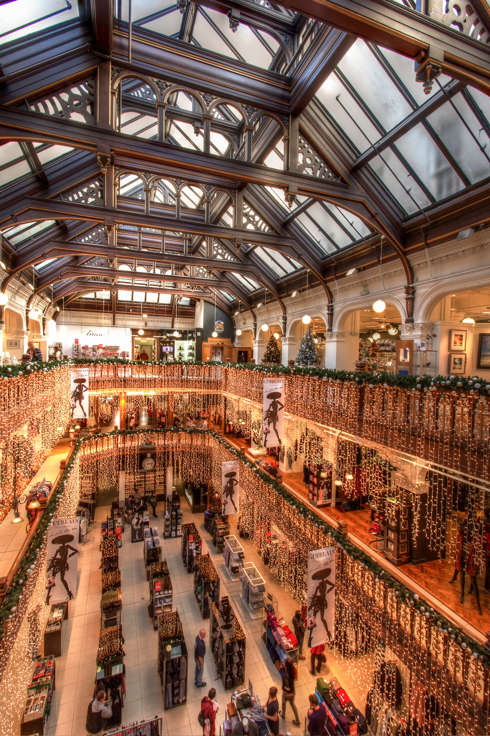 Department store, Edinburgh, by Rick McEvoy commercial interior photographer