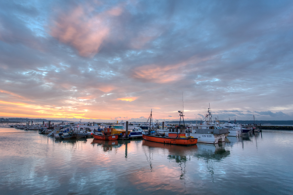 One of my best bits of Poole Photography ever - Poole Quay sunrise
