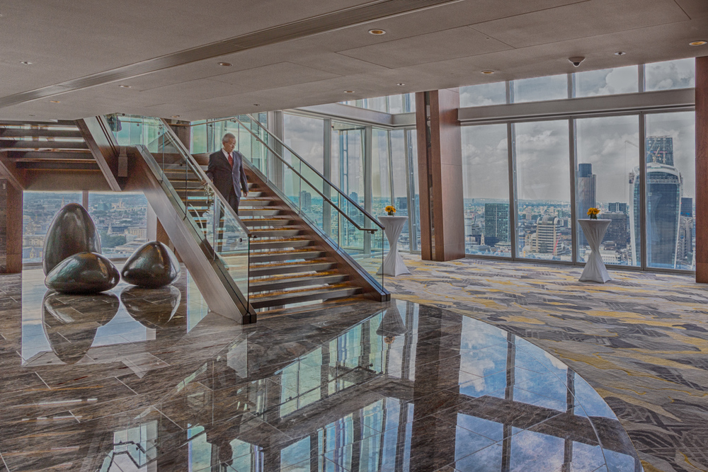 The London Shard - interior design photography shot - Nik HDR Efexx Indoor 2