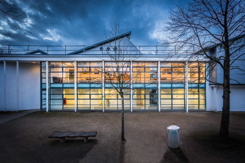 Winchester School of Art by Rick McEvoy Architectural Photographer