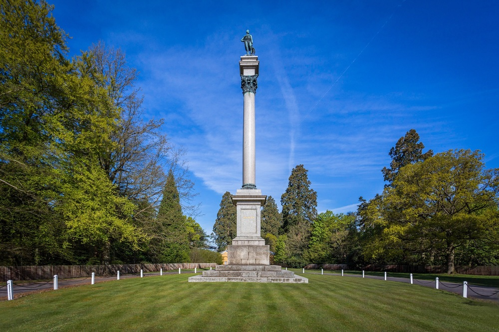 Picture of the Wellington Memorial by Rick McEvoy Architectural Photographer