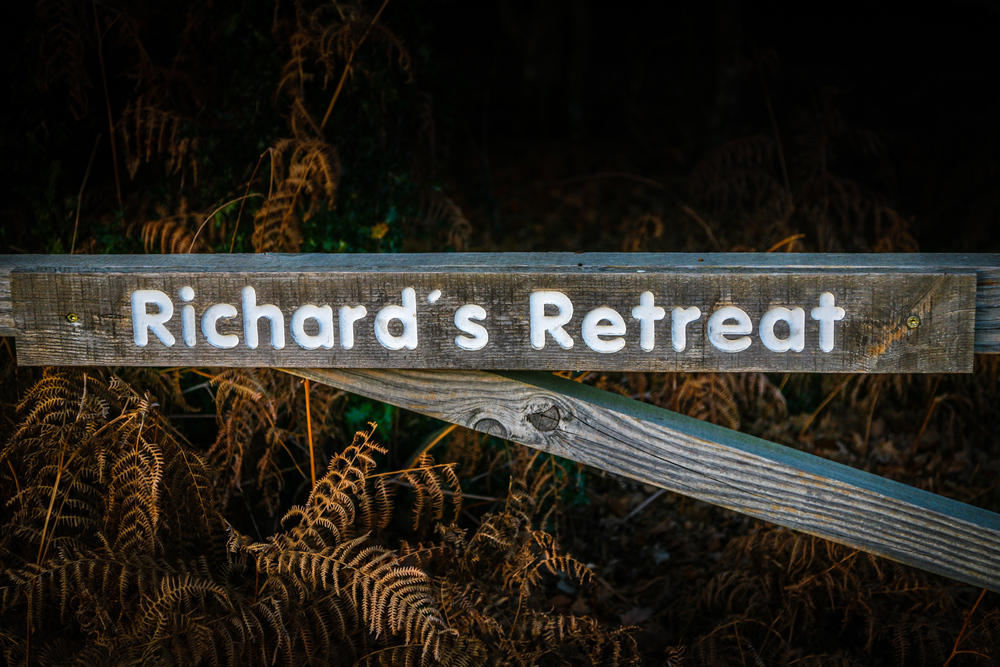 Richards Retreat - my sign