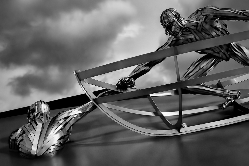 RNLI Memorial, Poole, Dorset, by Rick McEvoy architectural photographer in Poole