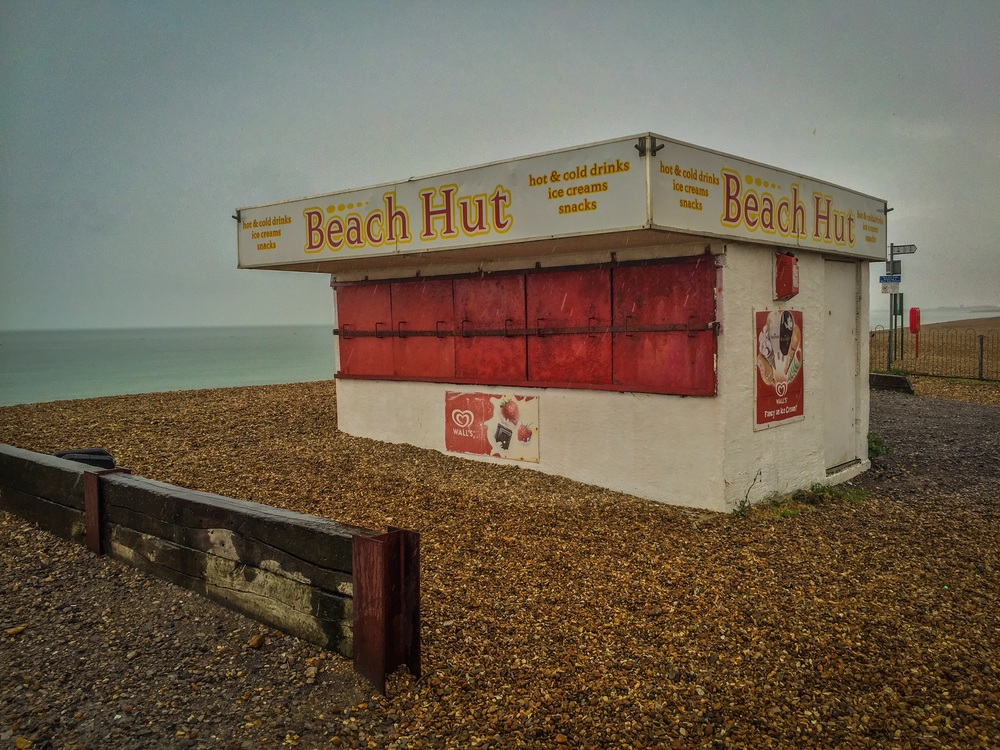 Picture of the beach cafe, Hayling Island