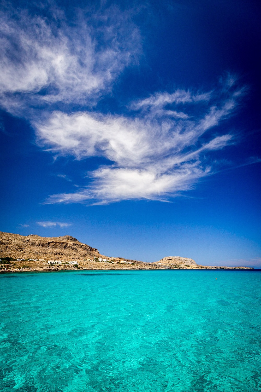 The Colours of Greece, Navarone Bay, Rhodes, Greece - landscape photography by Rick McEvoy