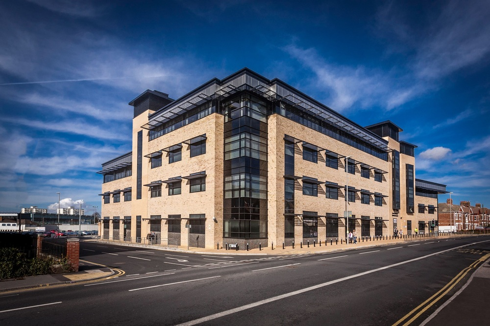 Joint Emergency Services Building, Poole, Dorset, by Rick McEvoy architectural photographer