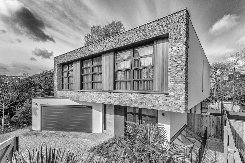 Private housing development, Poole, Dorset