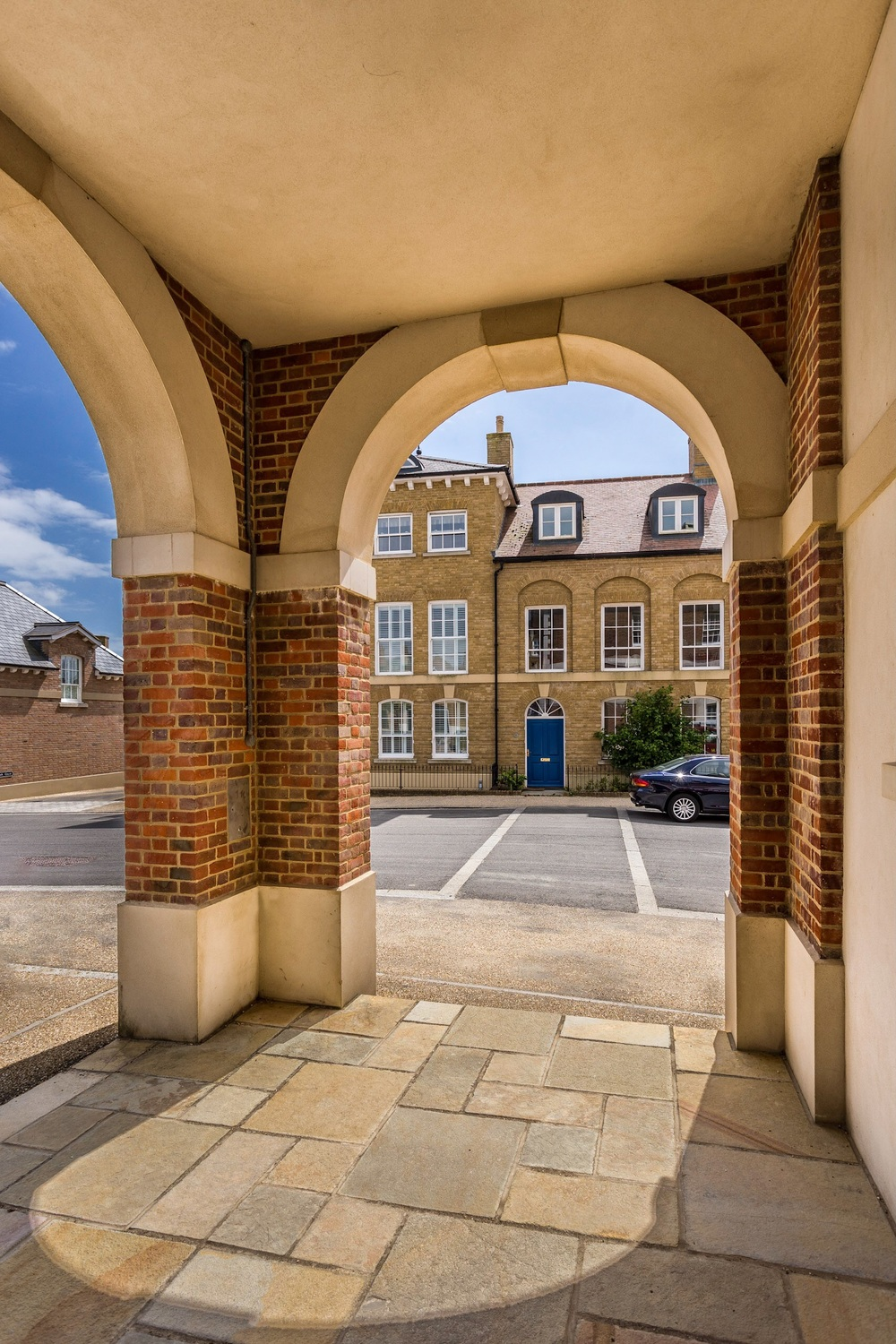 A picture of Poundbury, Dorset, by Rick McEvoy architectural photographer