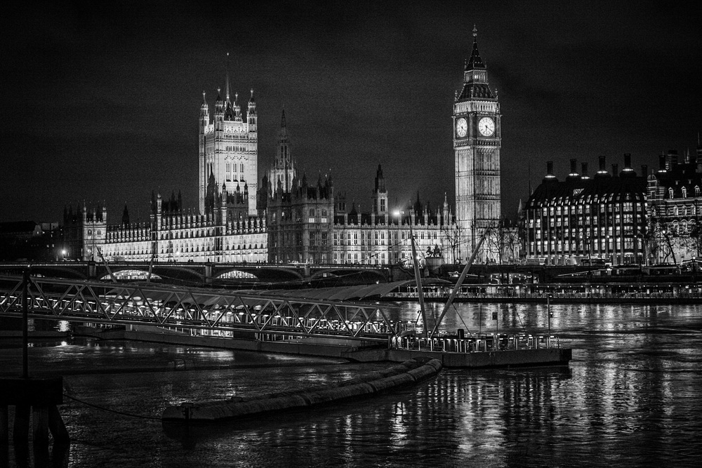 The Palace of Westminster and Big Ben, London photography by Rick McEvoy