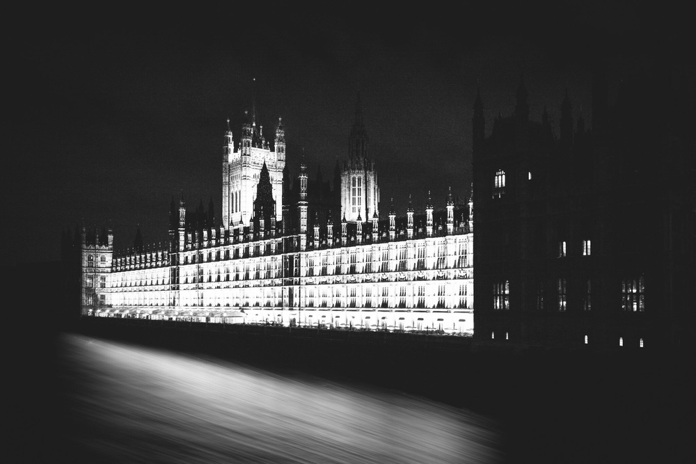 The Palace of Westminster by architectural photographer Rick McEvoy