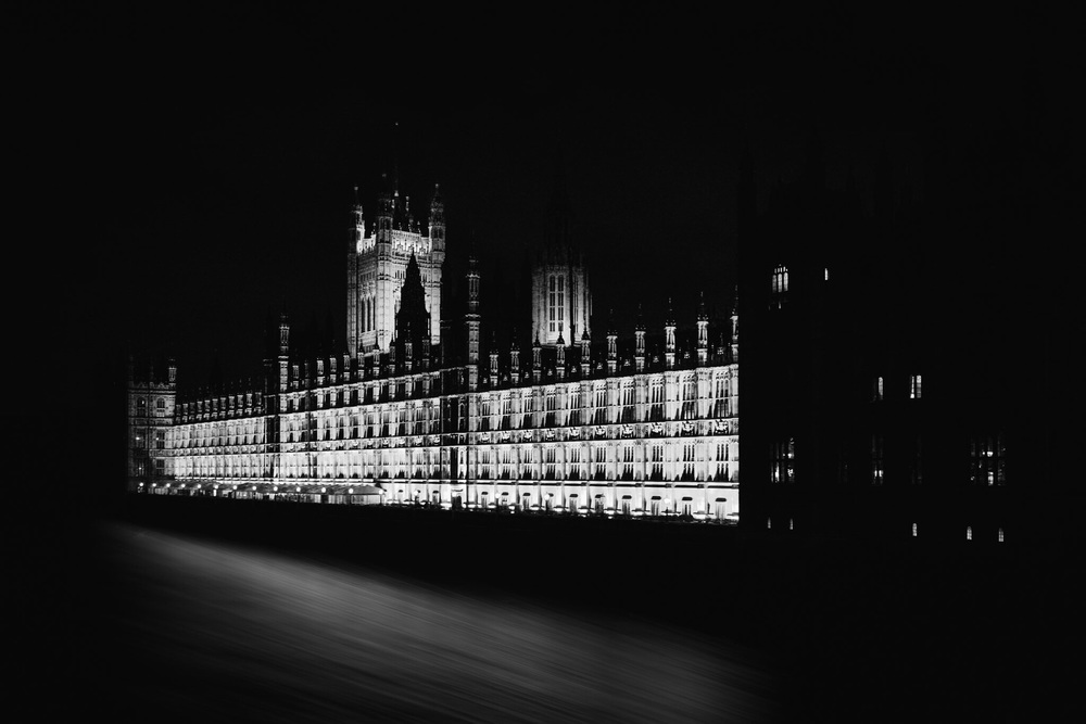 Picture of The Palace of Westminster at night