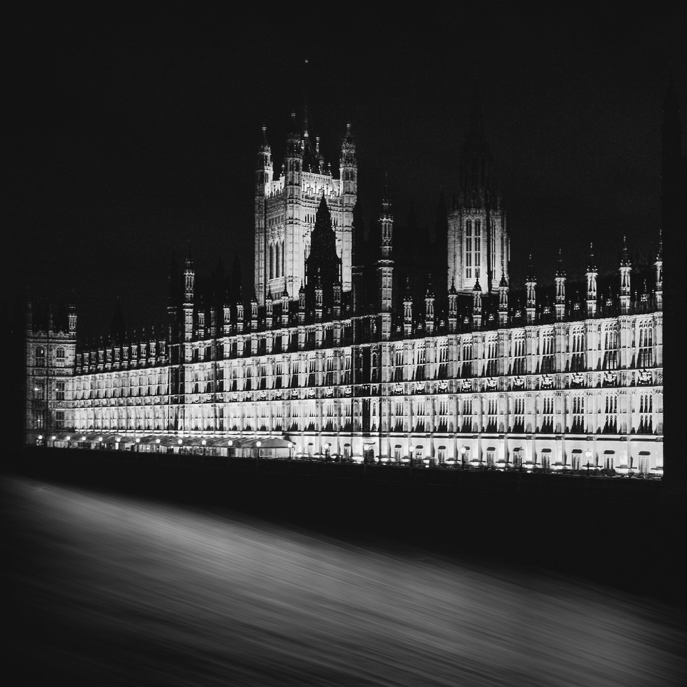 The Palace of Westminster, London. Architectural photography by Rick McEvoy