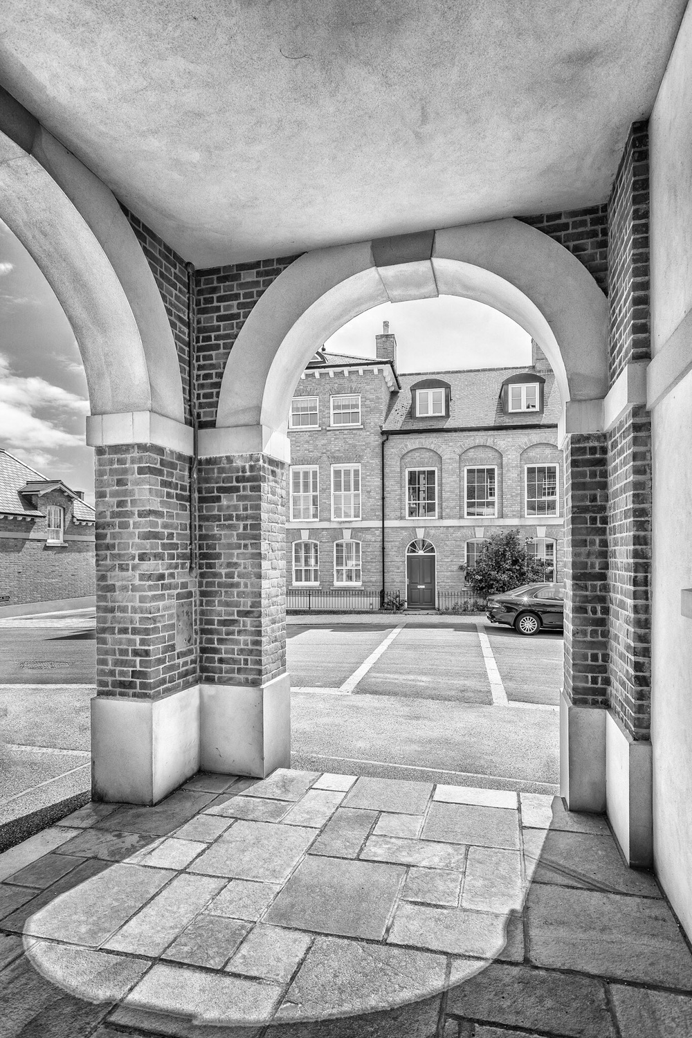 Housing development, Poundbury, Dorset