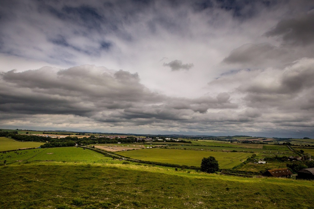 View from Old Sarum, Wiltshire