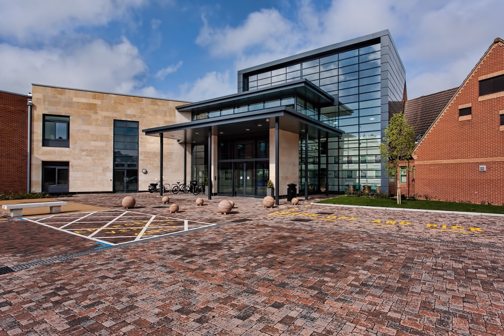 St Anns Hospital, Poole, by Rick McEvoy Construction Photographer in Dorset