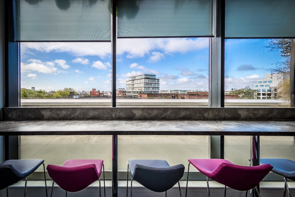 Seats, University of Southampton by Rick McEvoy, interior photographer