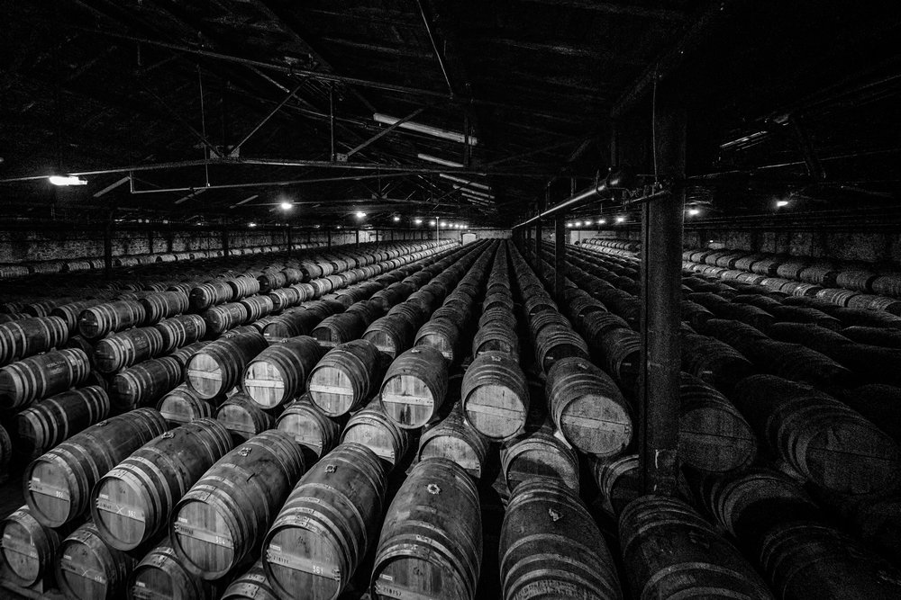 Picture of Barrels in Cognac, France