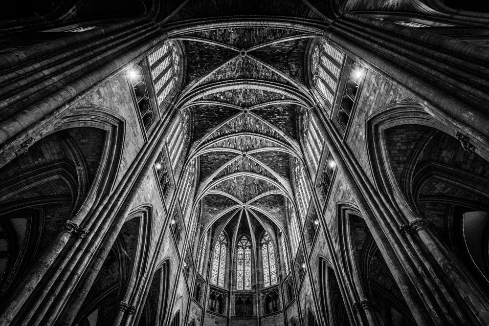 Bordeaux Cathedral by Rick McEvoy interior photographer