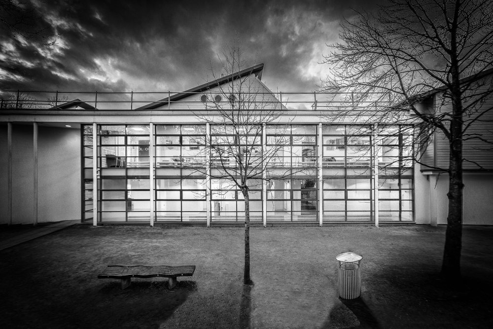 Winchester School of Art by Rick McEvoy- architectural photographer in Hampshire