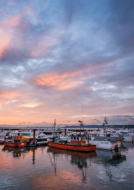 Poole Quay at sunrise by Rick McEvoy Dorset Photographer