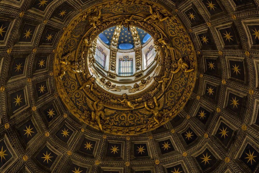 Ceiling, Duomo, Siena, Italy. The last image, and one of my favourites.