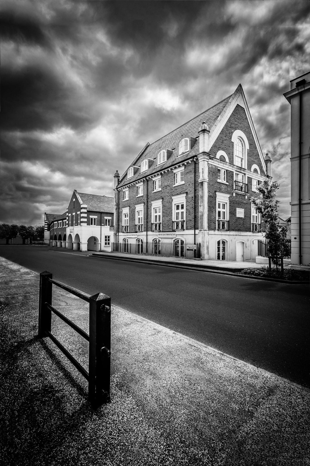 Architectural photography in Poundbury, Dorset.