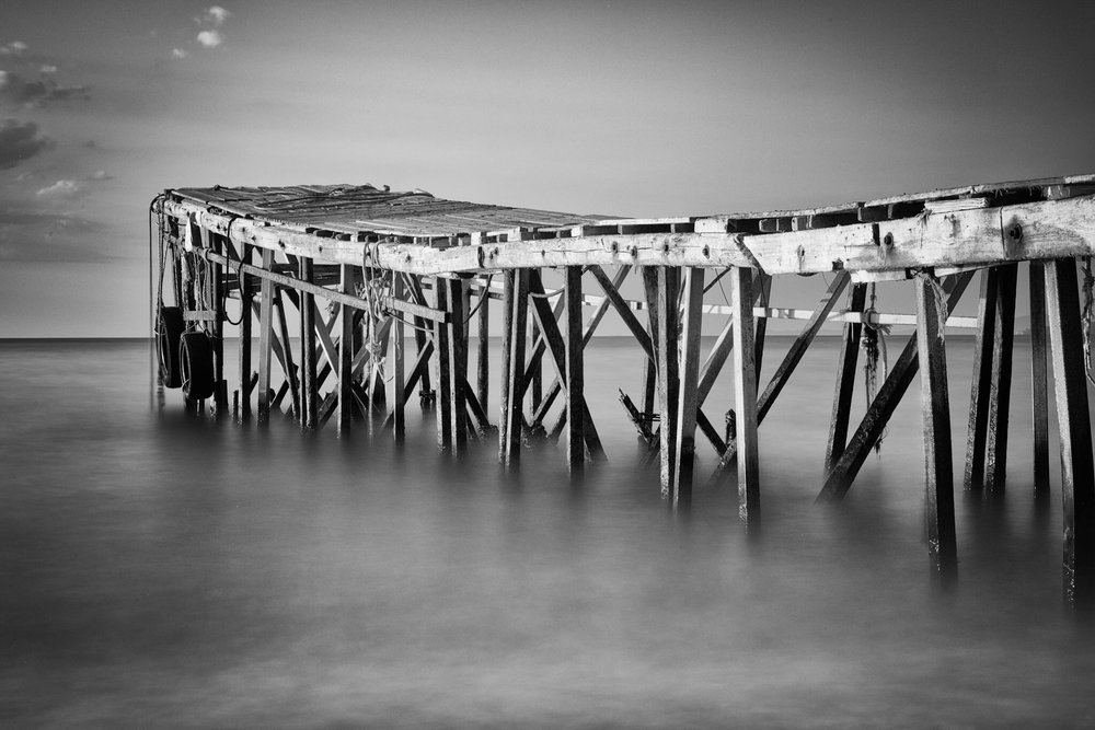 Picture of a Jetty, Greece. Fine Art Photography by Rick McEvoy