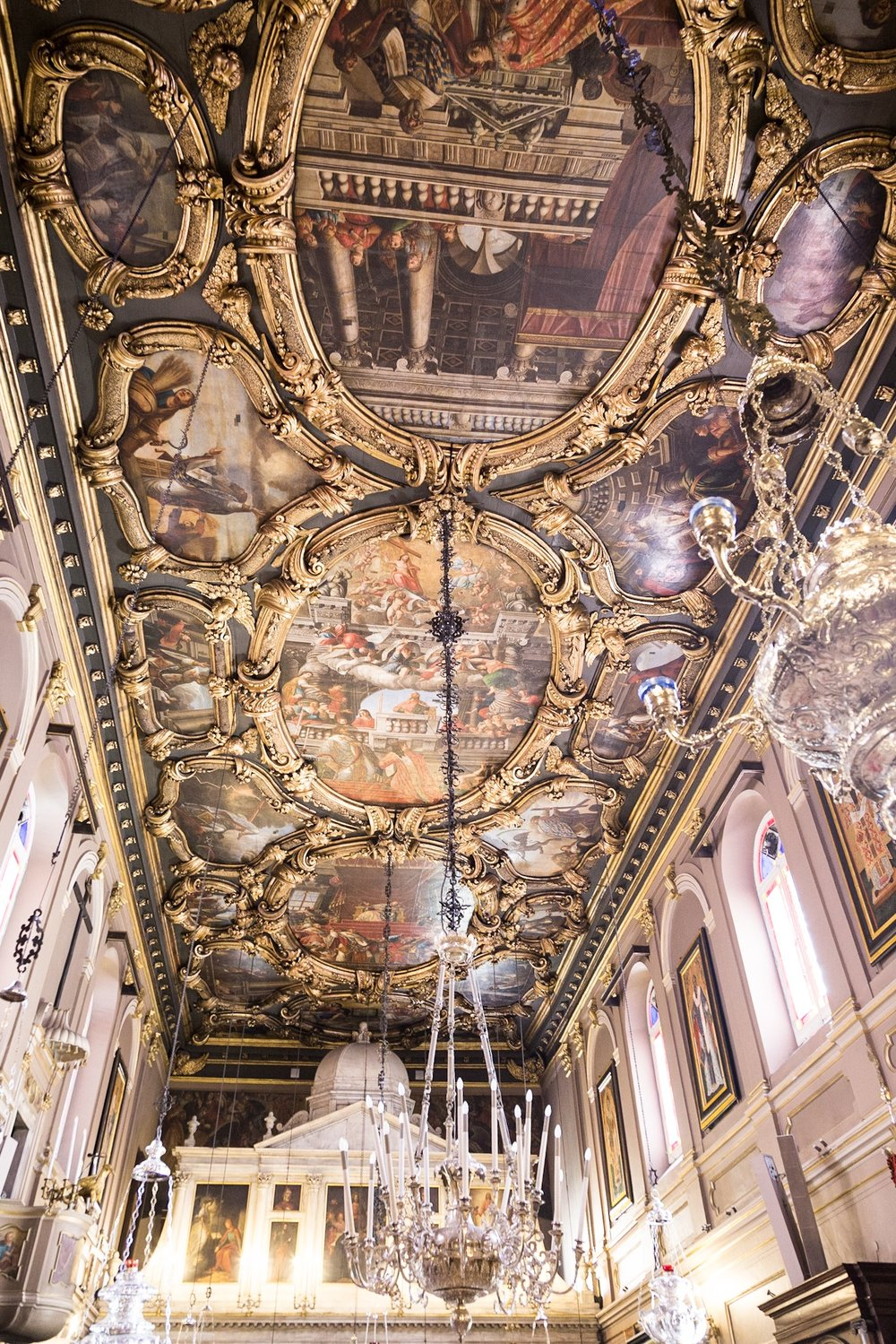 Greek Church by Rick McEvoy interior photographer