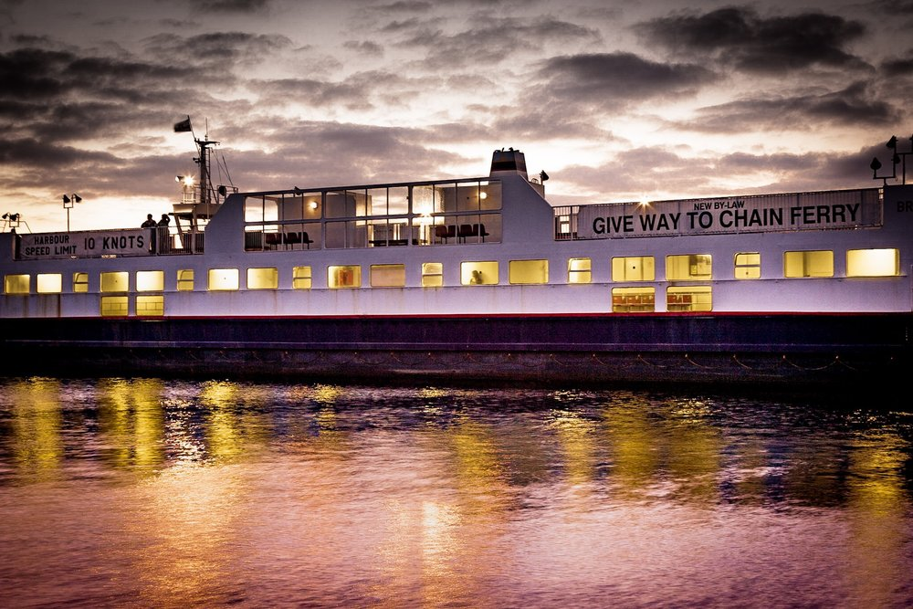 Chain Ferry by Poole Photographer Rick McEvoy