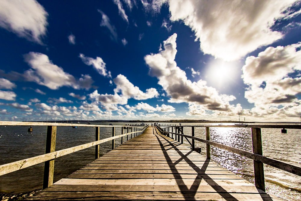 Jetty by Rick McEvoy - Dorset Photographer