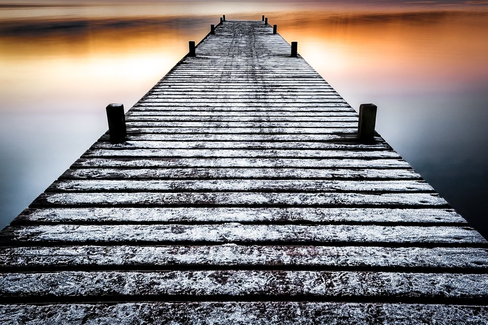 Picture of a jetty, Lake Windermere, by Rick McEvoy Landscape Photographer