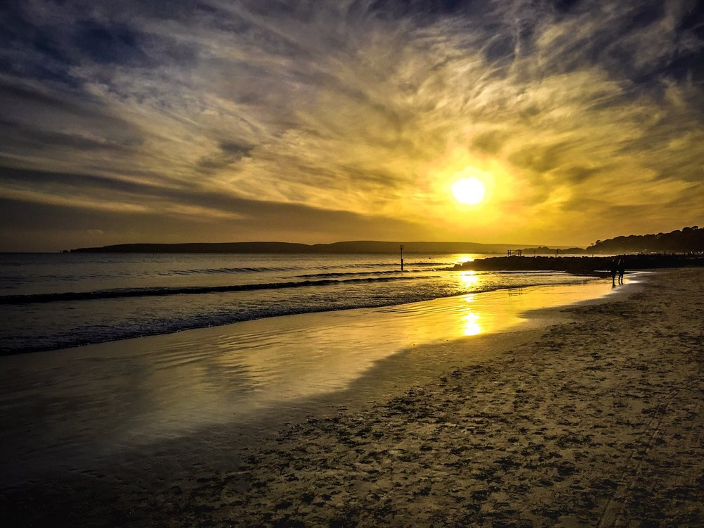 Sunset by Rick McEvoy Poole Photographer