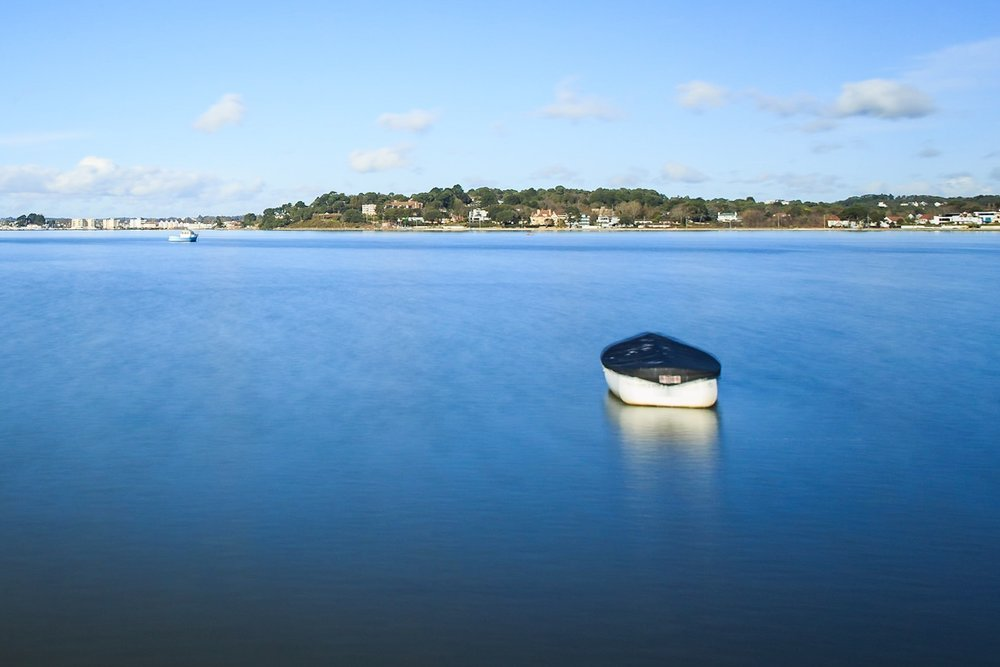 Picture of a boat, Sandbanks, Dorset