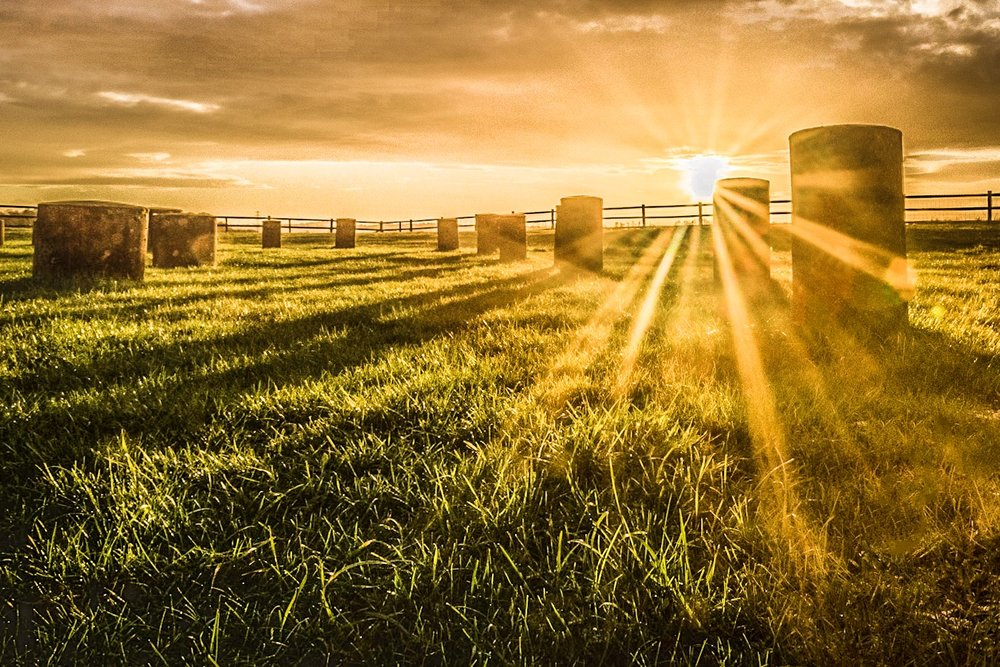 Woodhenge alternative edit by Rick McEvoy Wiltshire Photographer