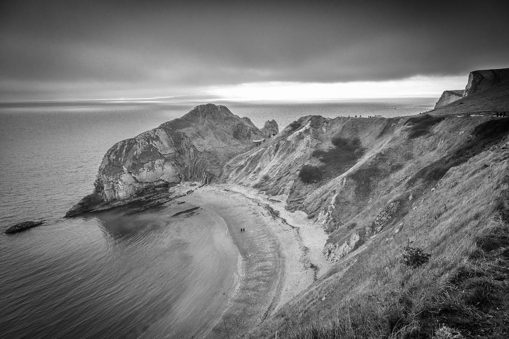 The spectacular Jurassic Coast in Dorset