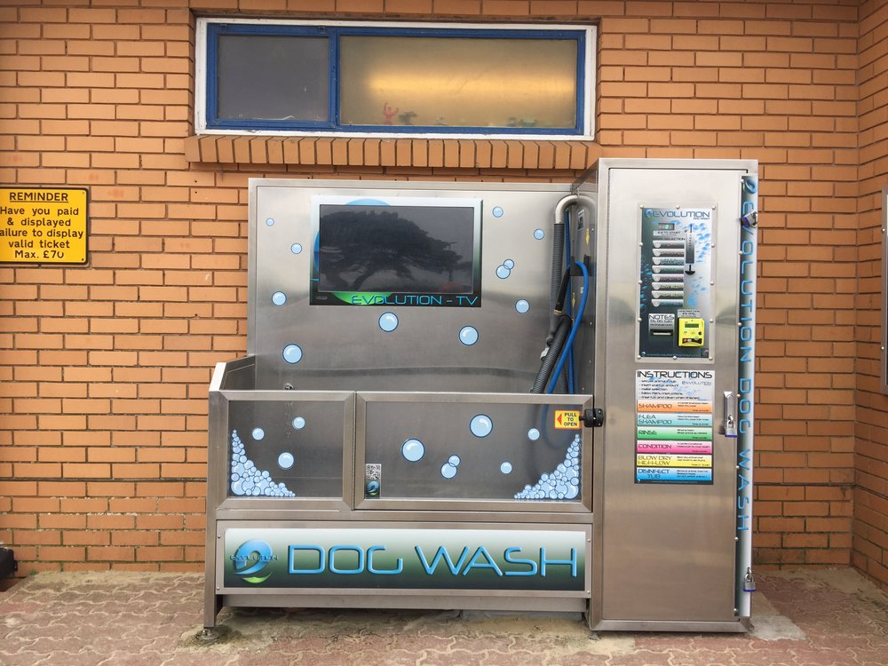Dog wash in Sandbanks