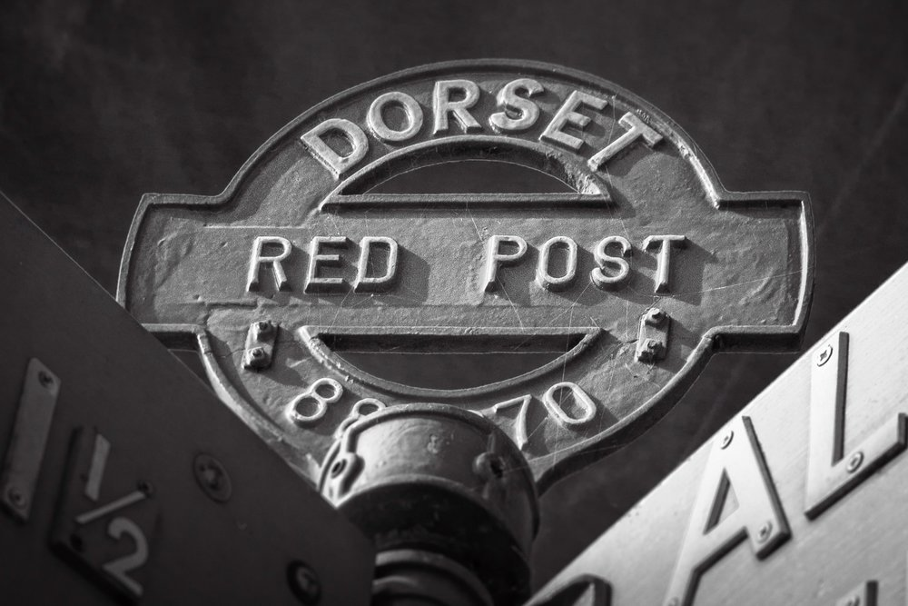 Dorset Red Post by Rick McEvoy - Photographer in Dorset