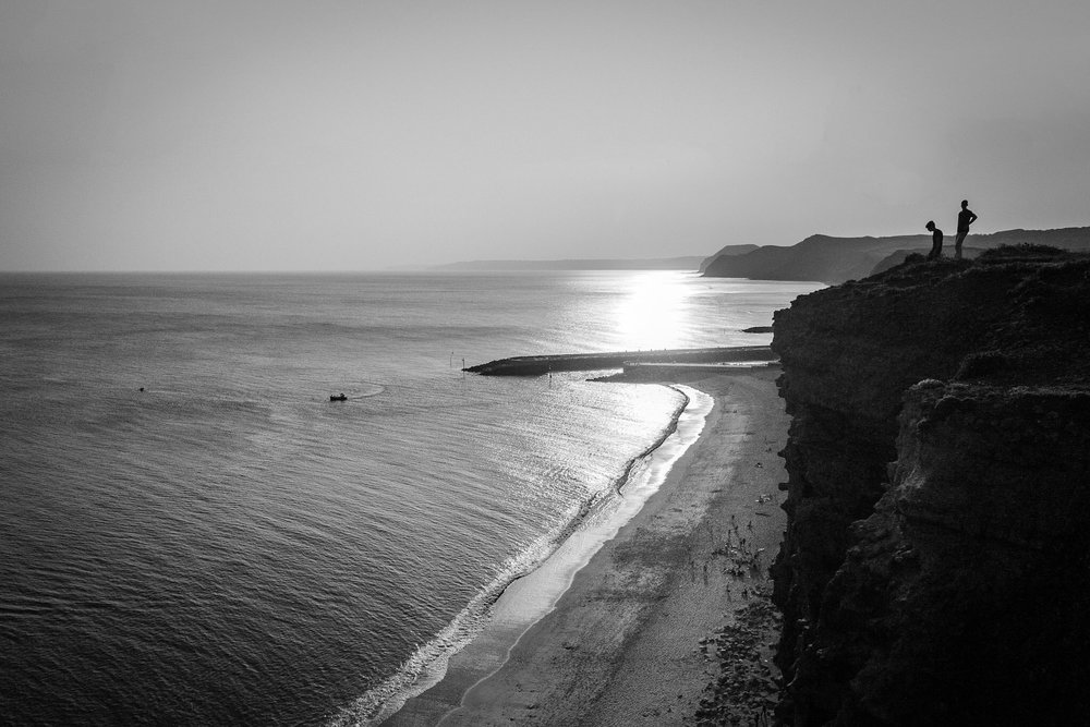 Black and white landscape photography by Rick McEvoy