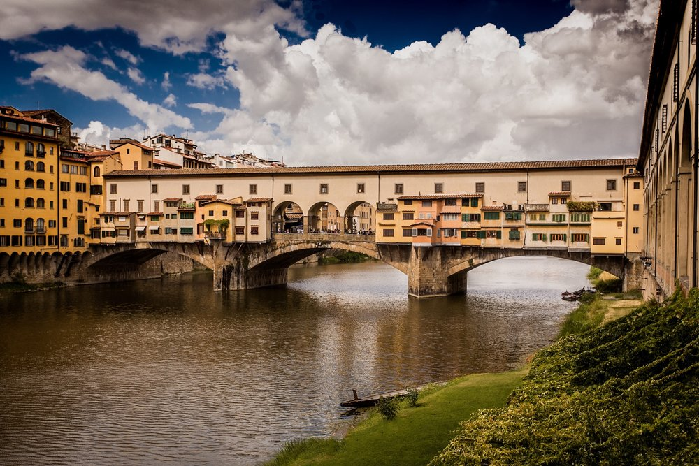 Ponte Vecchio by architectural photographer Rick McEvoy