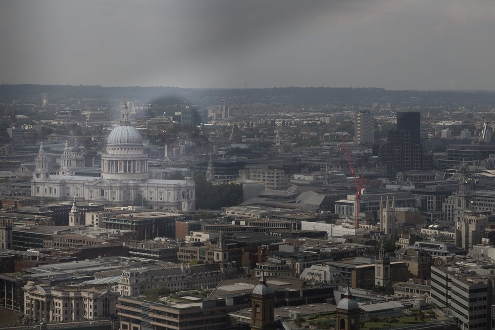 A picture of the London skyline by Rick McEvoy London photographer