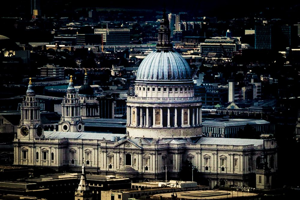 St Paul's Cathedral by Rick McEvoy London Photographer