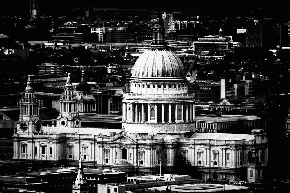 St Paul's Cathedral by London Photographer Rick McEvoy