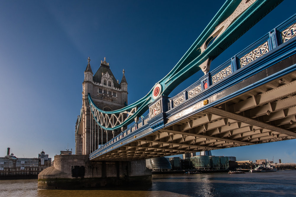 Tower Bridge by Rick McEvoy architectural photographer in London