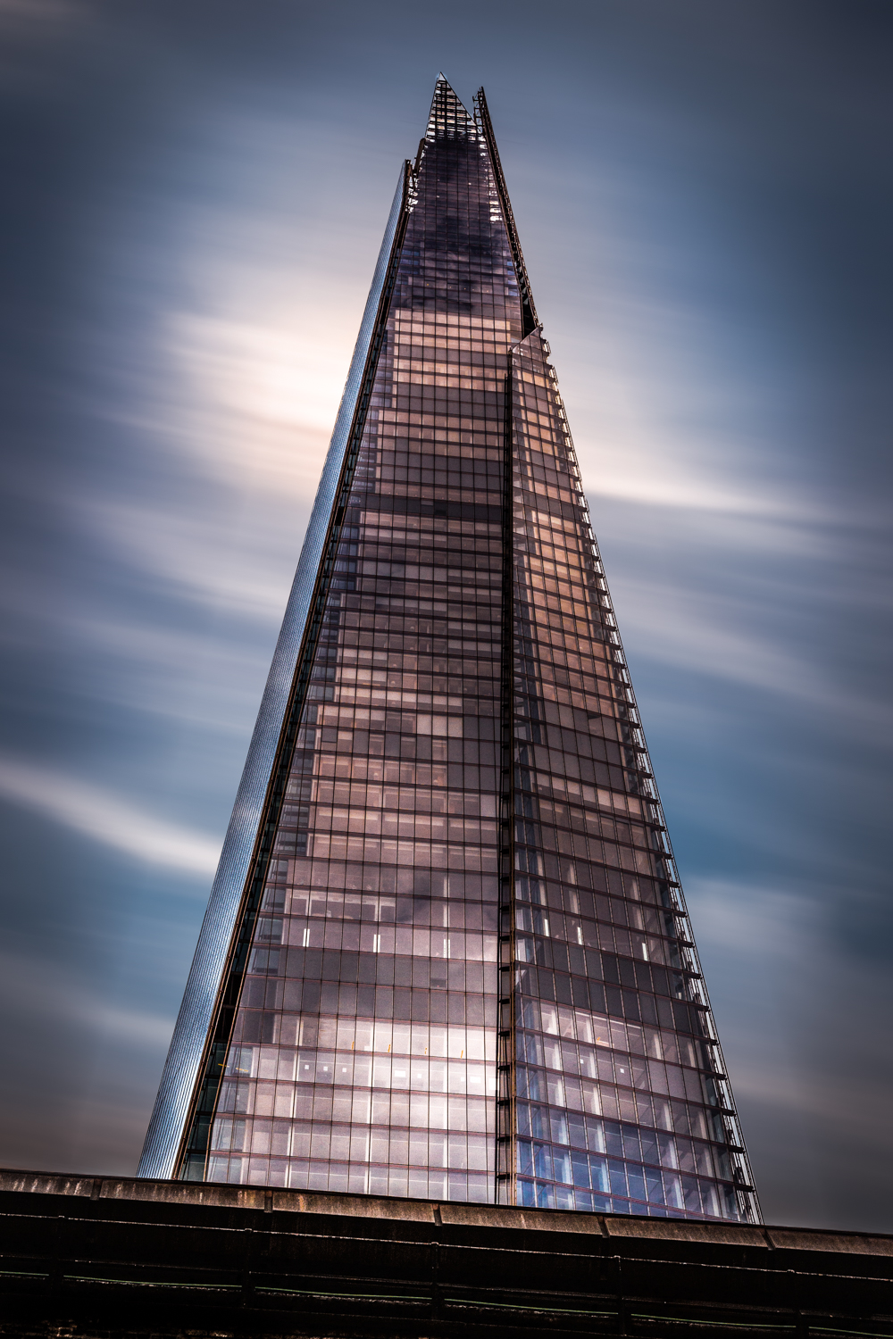 The Shard by Rick McEvoy architectural photographer in London