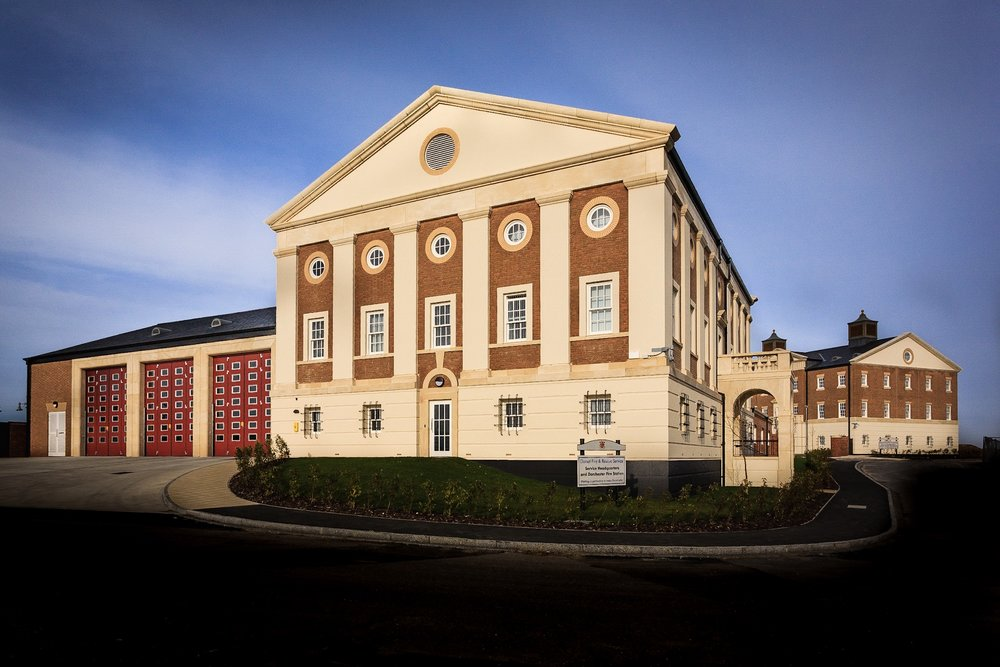 Dorchester Fire Station by Rick McEvoy Architectural Photographer in Poundbury
