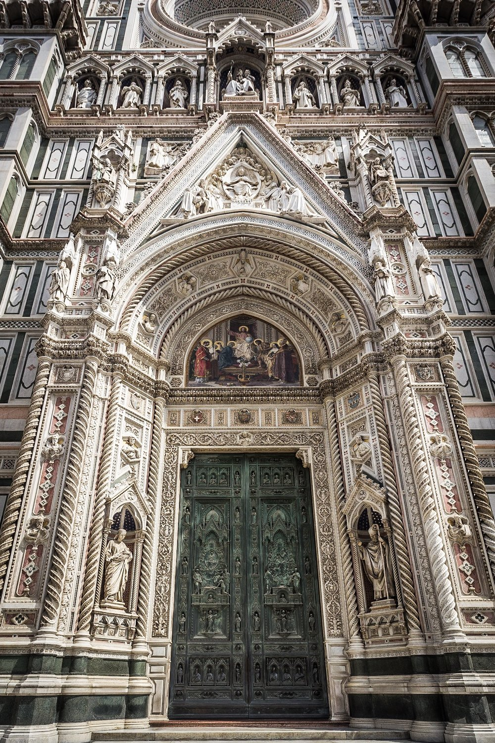 Door, Duomo, Florence, by Rick McEvoy Travel Photographer
