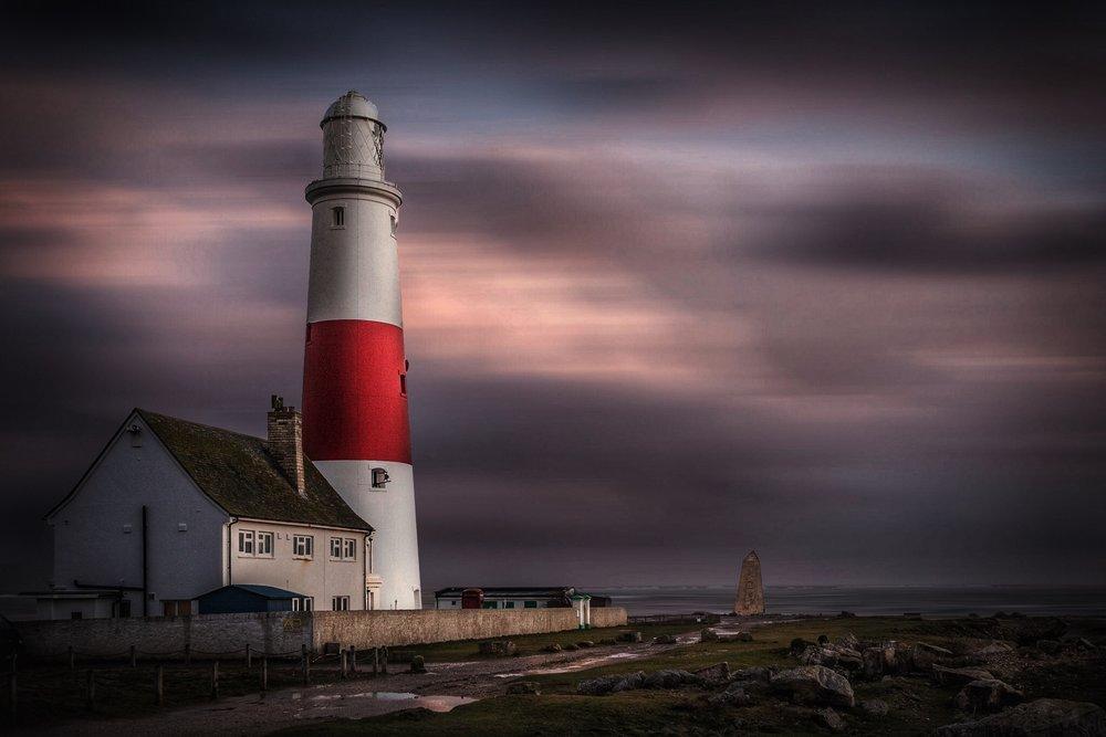 Portland Bill Lighthouse by Dorset Photographer Rick McEvoy