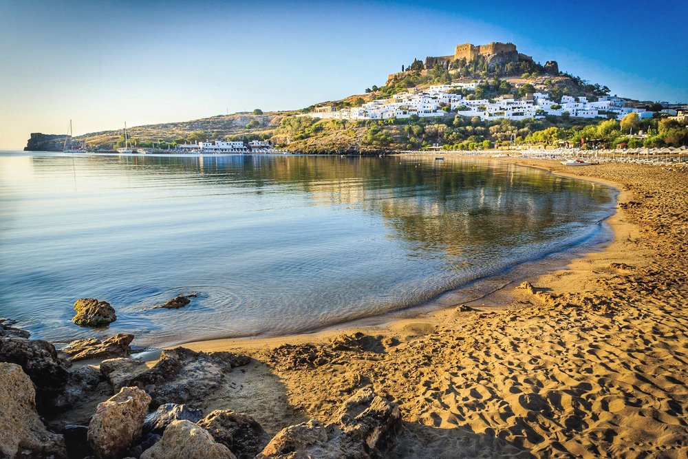 Lindos by Rick McEvoy - Travel Photographer