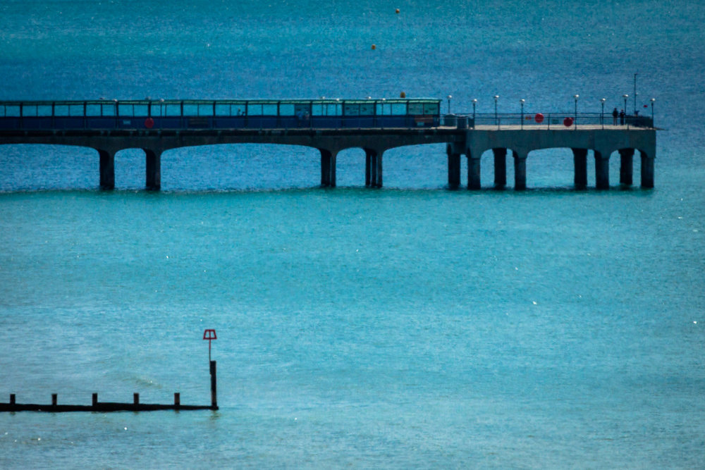 Boscombe Pier by Rick McEvoy Bournemouth Photographer